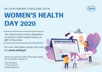 """Women's Health Day 2020"" veebikonverents 24.novembril 2020"